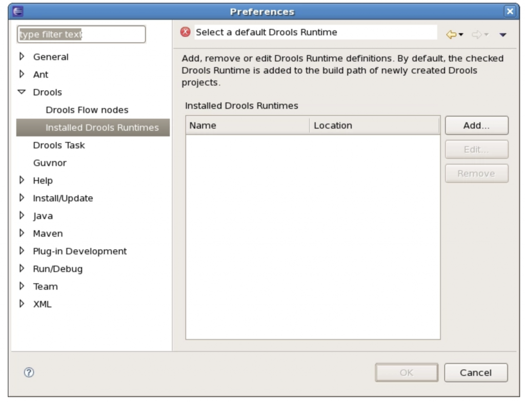 Drools 文档(安装和设置core&IDE)插图1