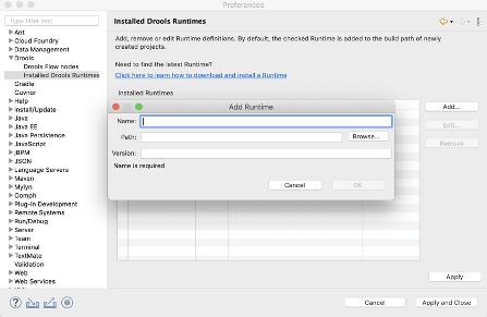 Eclipse中安装配置Drools运行时插图