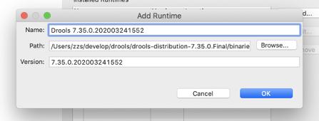 Eclipse中安装配置Drools运行时插图1