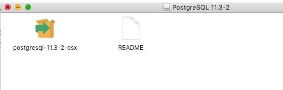 Mac OS安装PostgreSQL数据库插图1