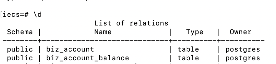 postgreql命令行交互(psql)常见命令插图