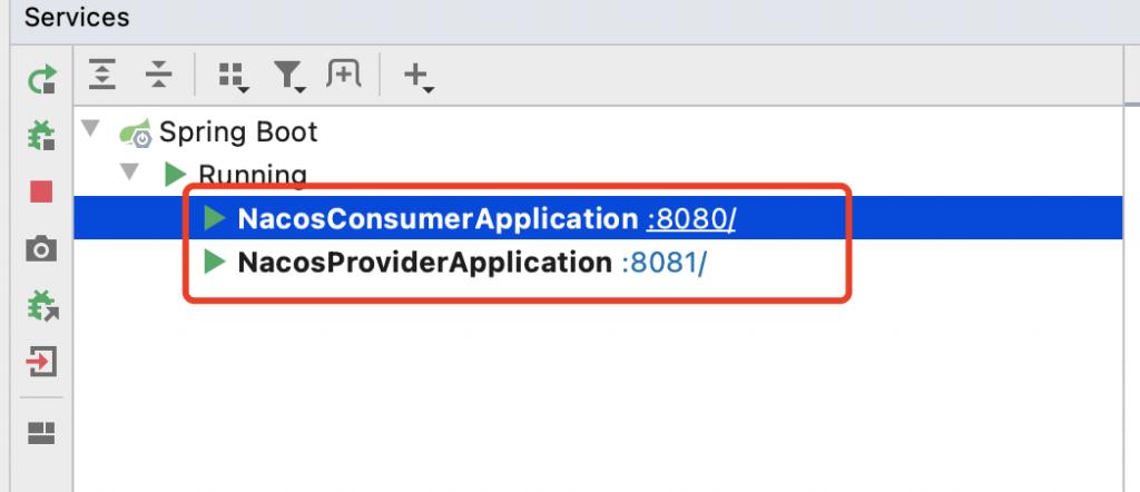 Idea显示多个服务启动状态(Services栏)插图